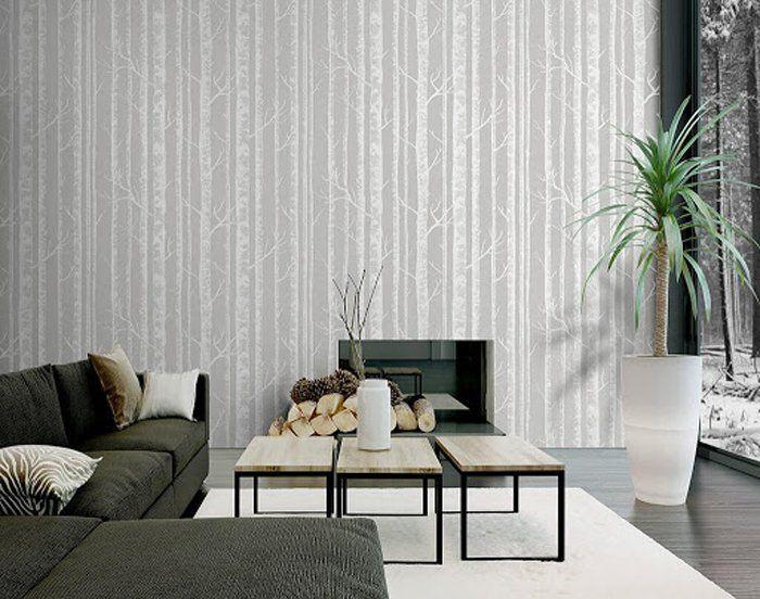 Làm đẹp không gian nội thất với giấy dán tường Hàn Quốc