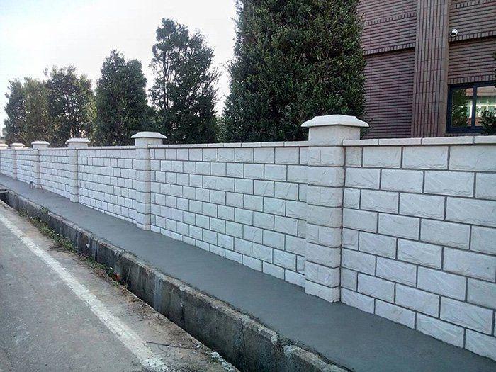 hàng rào bằng gạch