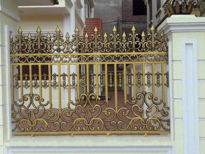 Hàng rào nghệ thuật từ nhôm đúc
