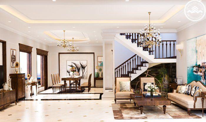 Đơn vị thi công thiết kế nội thất biệt thự uy tín chuyên nghiệp