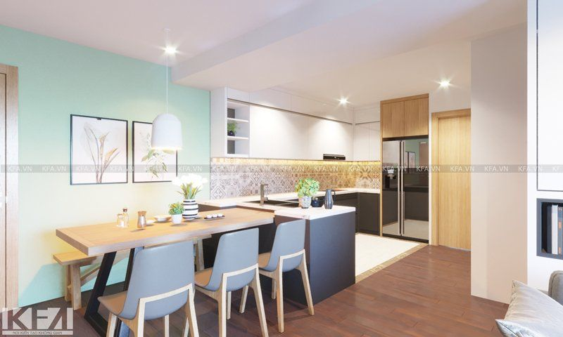 Thiết kế và thi công nội thất chung cư West Bay Ecopark – Anh Kiên