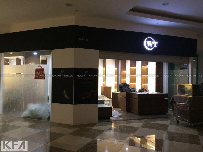 Thi công showroom WT Royal 1