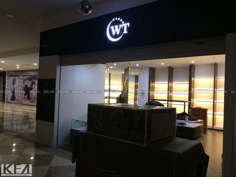 Thi công showroom WT Royal 2