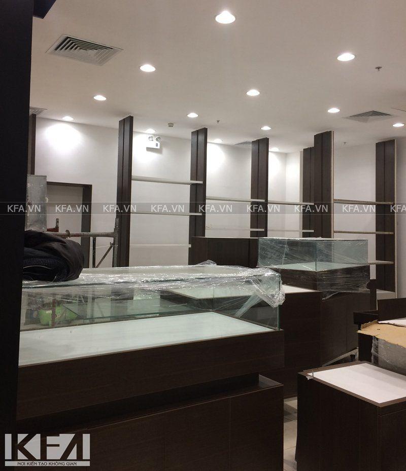 Thi công showroom WT 4