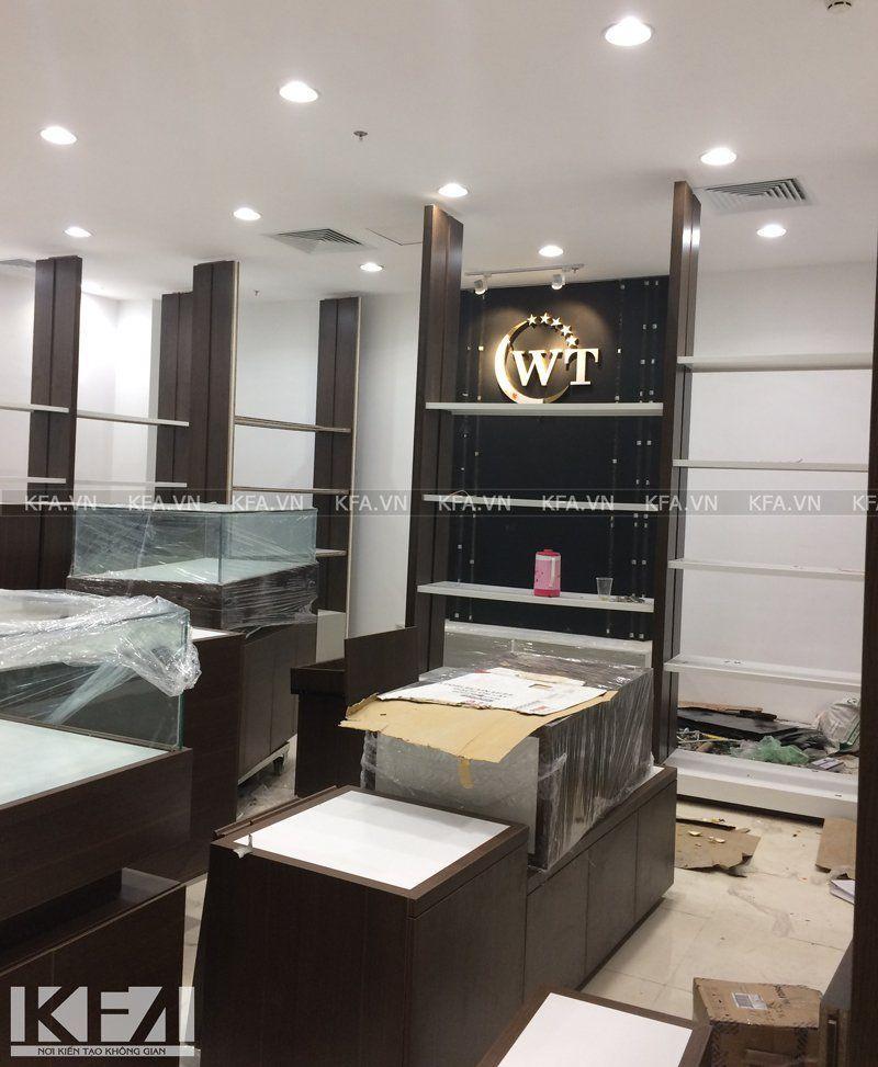 Thi công showroom WT 2