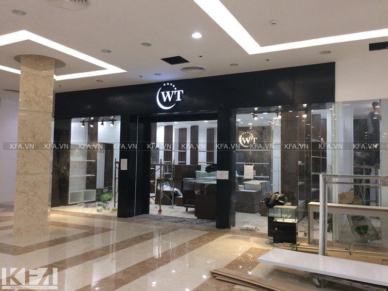 Thi công showroom WT
