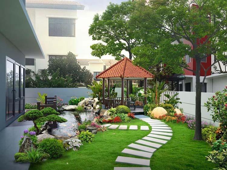 Tổng hợp những mẫu biệt thự vườn đẹp chuẩn năm 2020