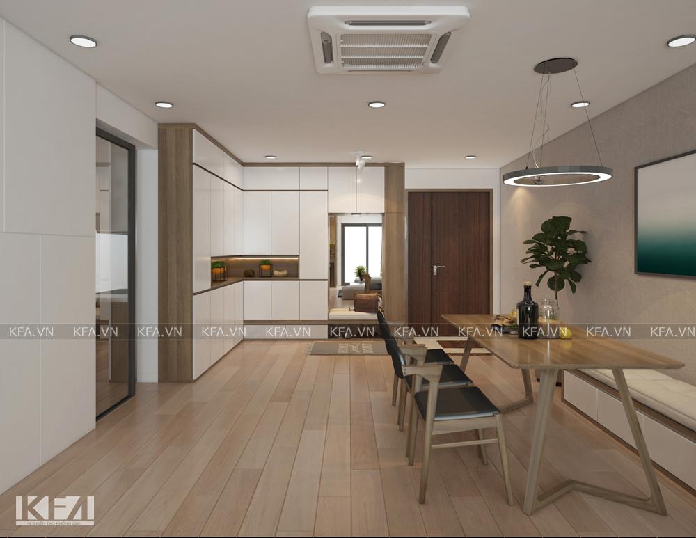 Thiết kế nội thất chung cư R3 Royal – chị Hương