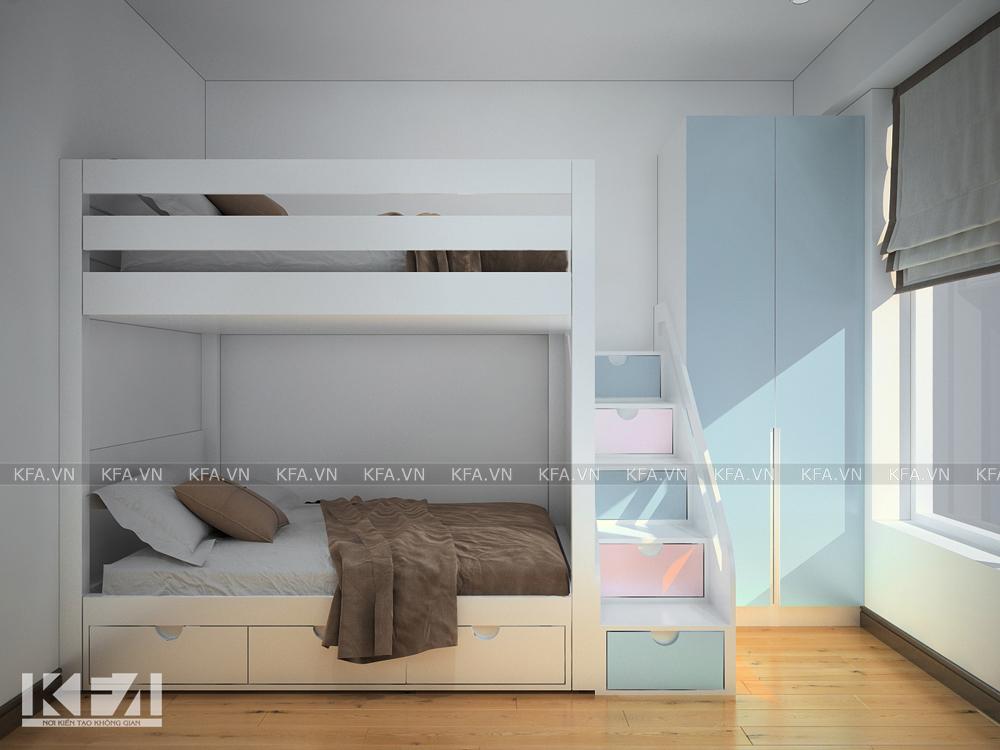 Thiết kế nội thất chung cư HH2 Dương Nội- anh Luật