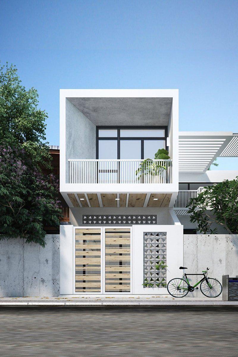 Hé lộ 10 mẫu thiết kế nhà phố hiện đại sang trọng tiện nghi