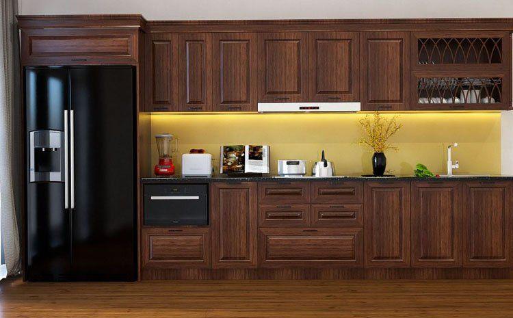 mẫu tủ bếp dành cho những người hướng đến sự sang trọng
