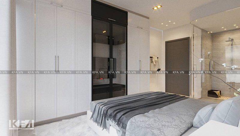 Thiết kế nội thất chung cư New Horizon City Lĩnh Nam- Chị Dung
