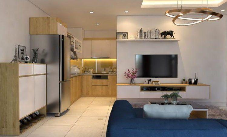 thiết kế nhà bếp dành cho các cặp đôi