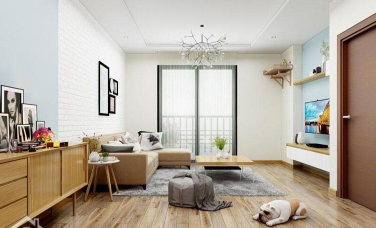 phòng khách thiết kế theo phong cách tỉ mì cầu kỳ