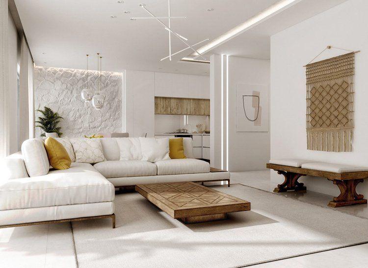 Phong cách nội thất hiện đại – Sự đẳng cấp, sang trọng trong từng chi tiết