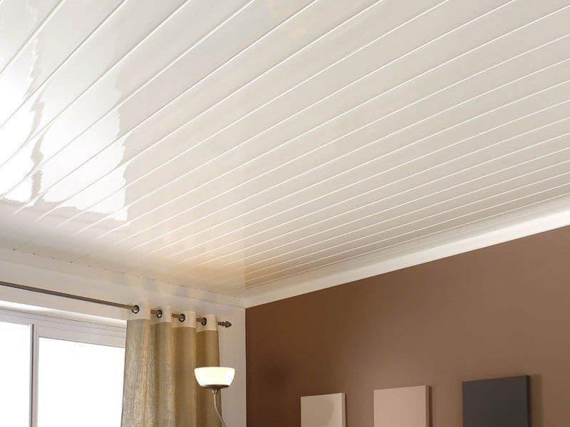 trần nhựa nhà chống nóng
