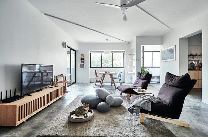 Thiết kế nội thất chung cư phong cách hiện đại, đơn giản