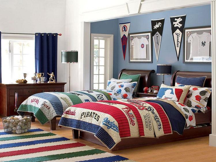 Phòng ngủ dành cho 2 bé trai khác biệt và nổi bật