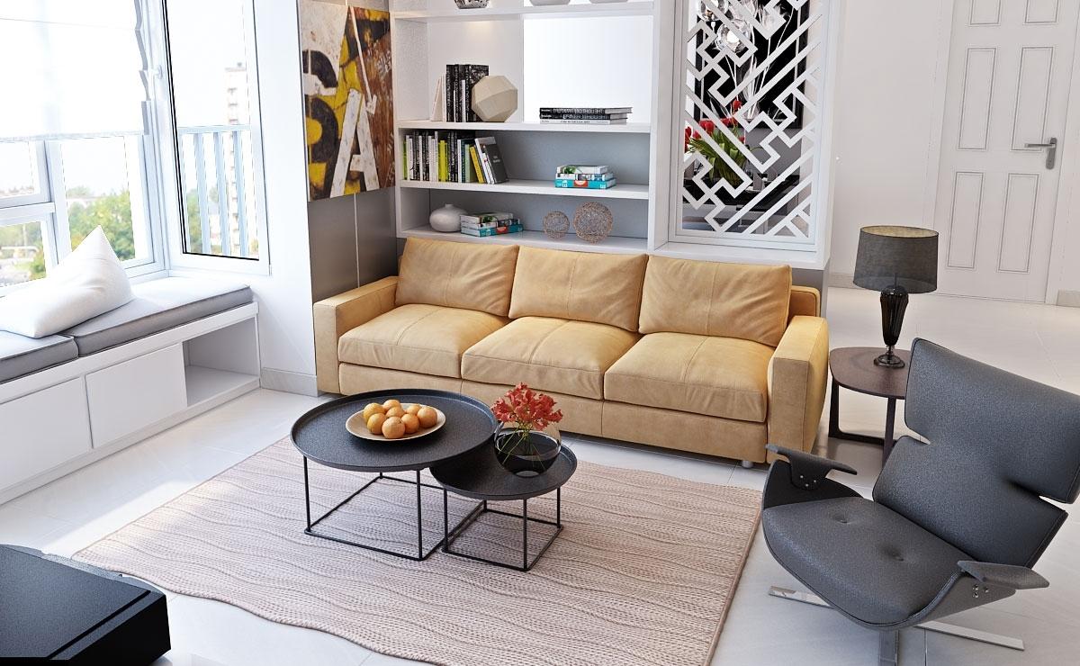 phòng khách có thiết kế nhỏ đẹp hiện đại