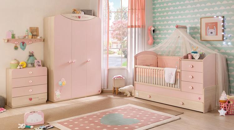 mẫu phòng ngủ cho bé sơ sinh