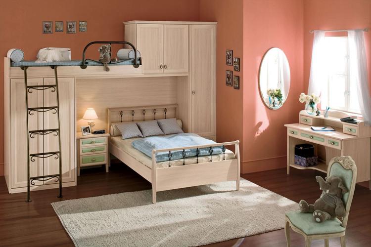 mẫu phòng ngủ này tạo nên sự thông thoáng cho bé