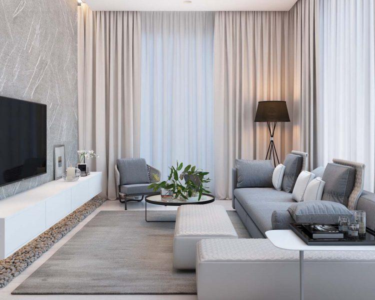 Thiết kế nội thất chung cư Booyoung Hà Đông – chị Giang