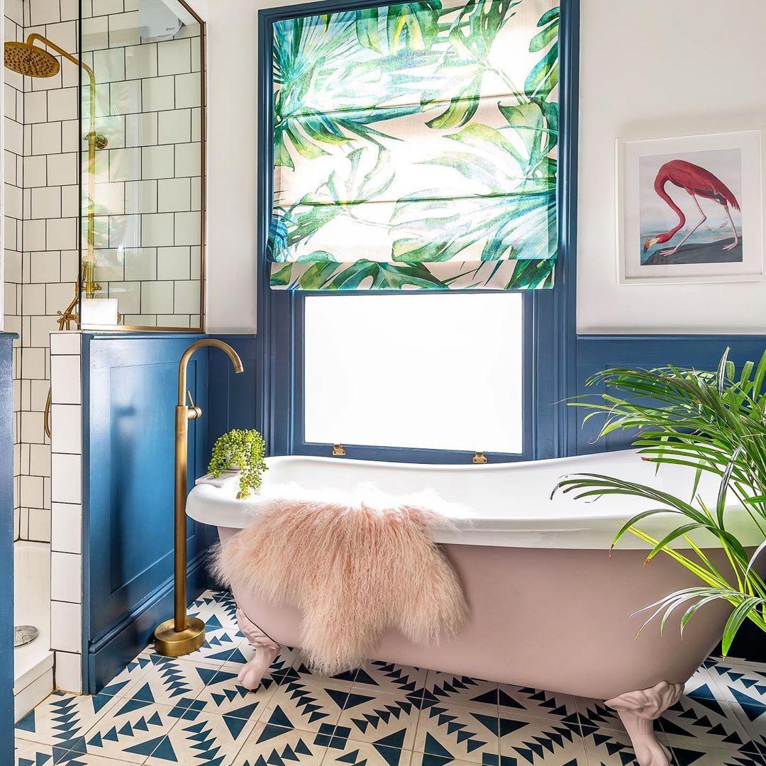 Phòng tắm với thiết kế hòa mình và thiên nhiên đậm chất Châu Á