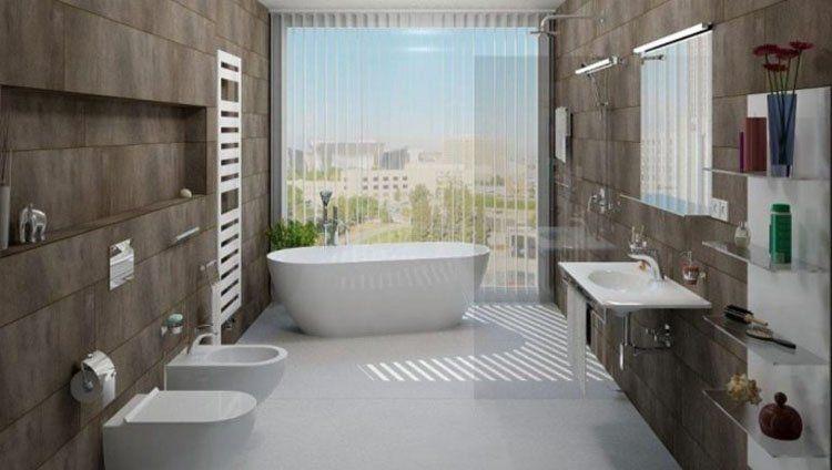 Phòng tắm với thiết kế hiện đại và tinh tế