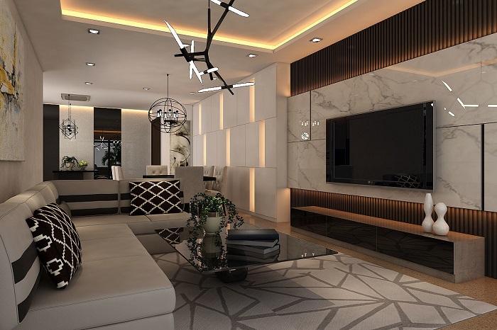 Thiết kế nội thất chung cư theo xu hướng mở