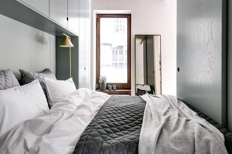 Thiết kế phòng ngủ căn hộ mini