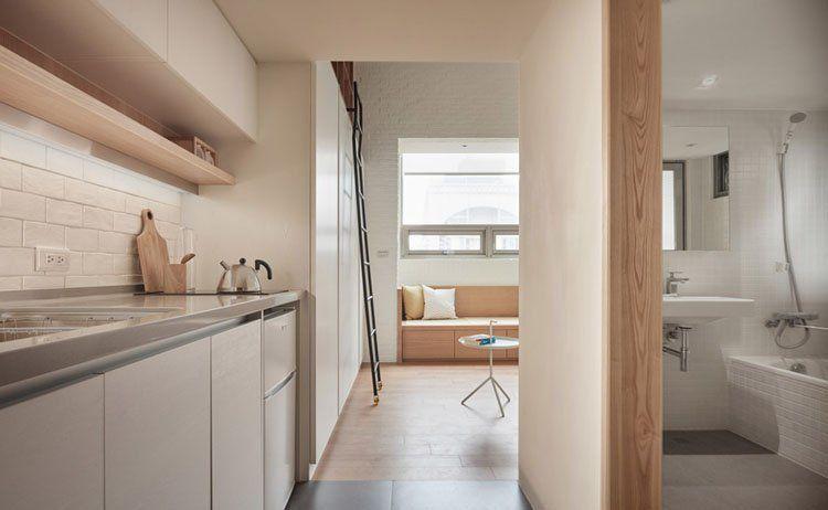 Mẫu thiết kế nội thất cho chung cư mini đẹp và gọn gàng.