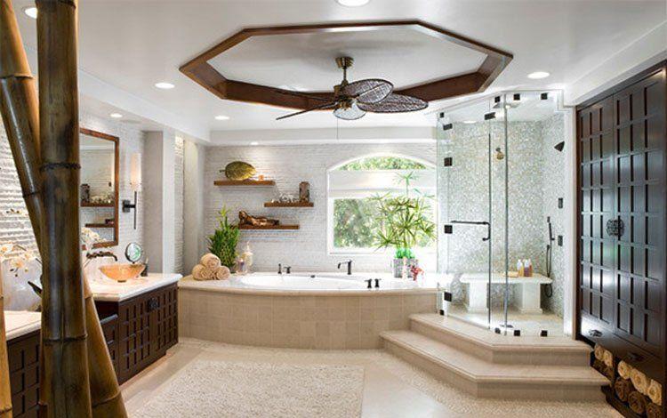 Thiết kế phòng tắm nổi bật và hiện đại