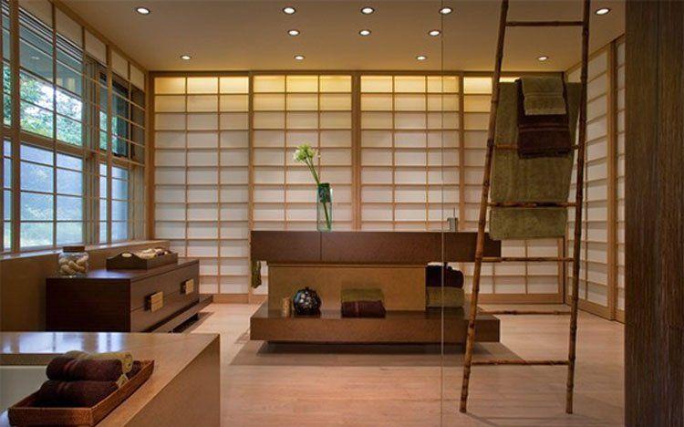 Phòng tắm mang đậm phong cách Nhật Bản