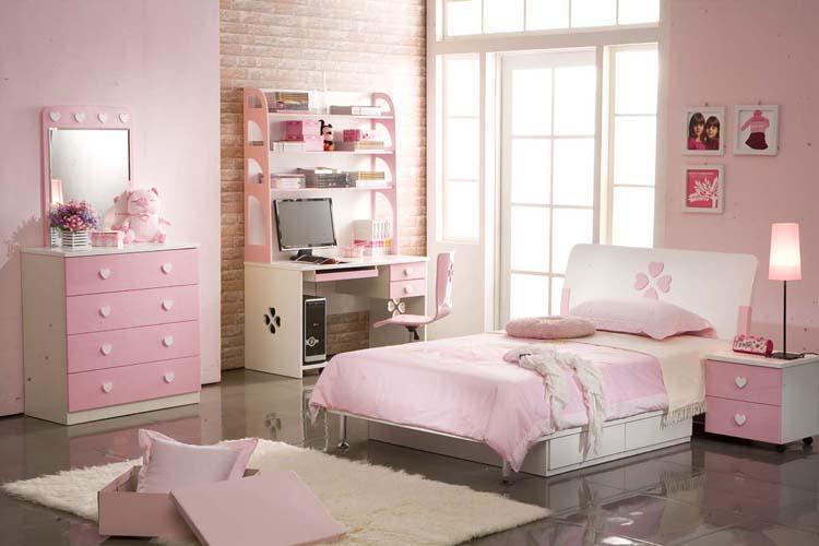 mẫu phòng ngủ bé gái đẹp và đáng iu