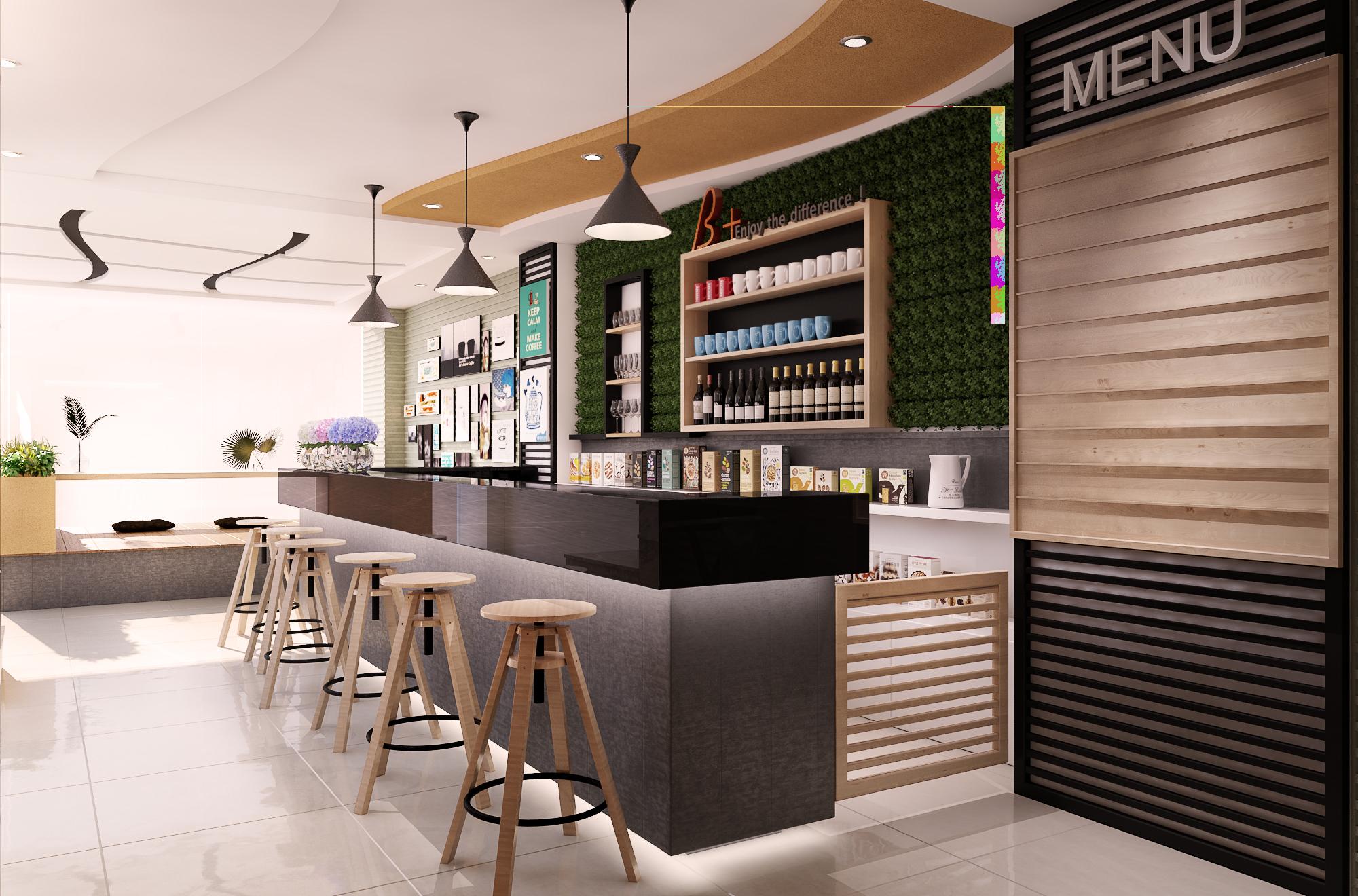 Kinh nghiệm thiết kế quầy bar cafe vừa đẹp vừa chất chủ quán cần tham khảo.