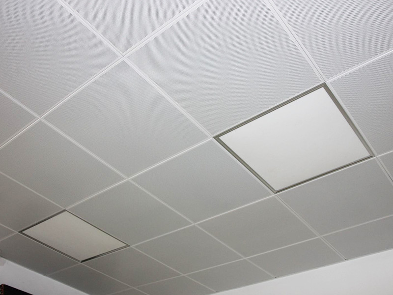 trần nhà được làm thư chất liệu trần nhôm