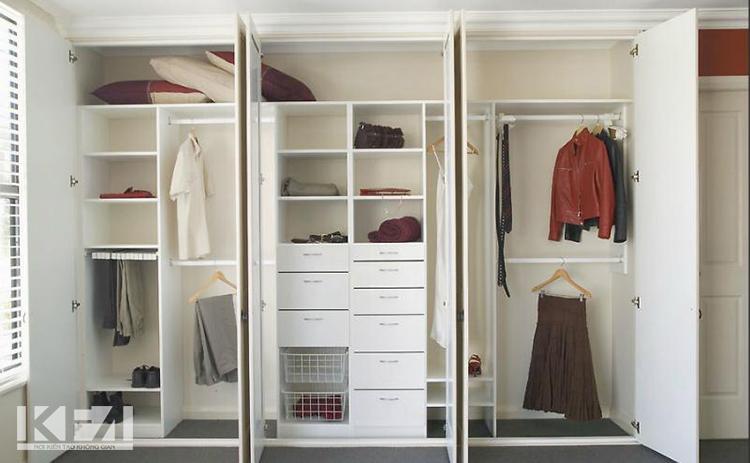 mẫu tủ âm tường theo phong cách hiện đại