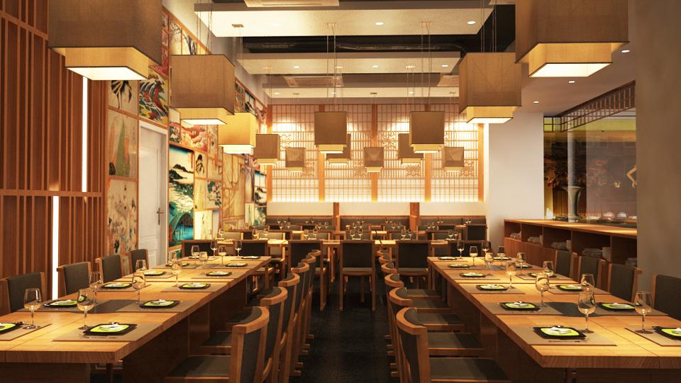 lựa chọn ánh sáng phù hợp cho nhà hàng