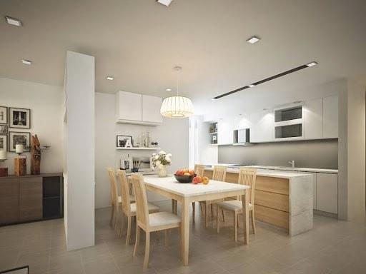mẫu phòng bếp chung cư