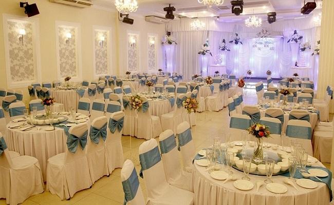 Thiết kế nội thất nhà hàng tổ chức tiệc cưới