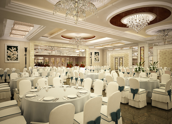 Thiết kế nhà hàng tiệc cưới 2