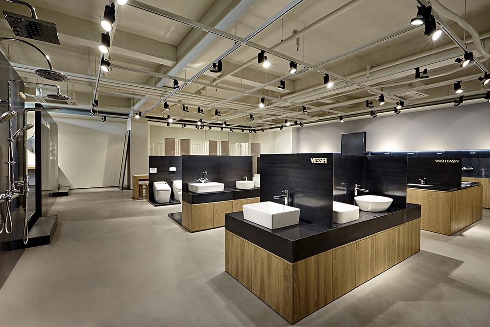 Thiết kế showroom thiết bịi vệ sinh