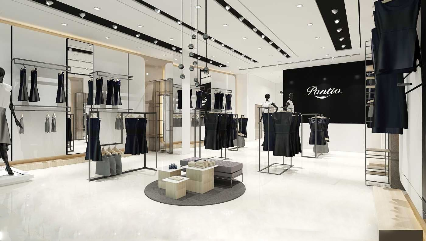 Thiết kế showroom thời trang đẹp