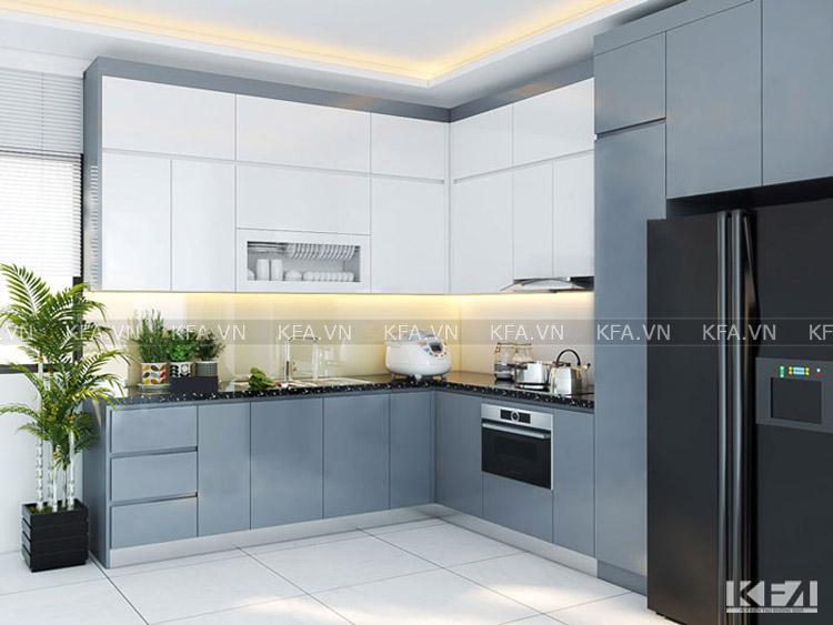 Kinh nghiệm thiết kế nội thất phòng bếp chung cư đẹp và hiện đại