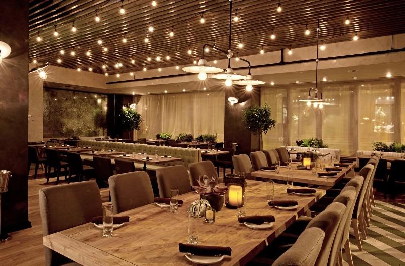 nguyên tắc bố trí nội thất nhà hàng
