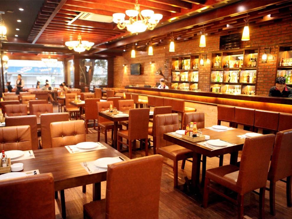 nguyên tắc thiết kế nội thất nhà hàng
