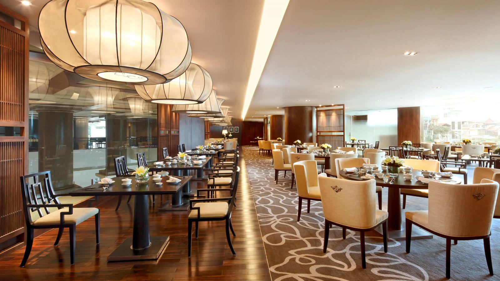 phong cách thiết kế nhà hàng hiện đại