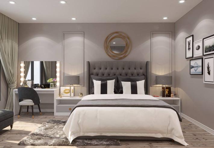 Thiết kế phòng ngủ nhà ống hiện đại