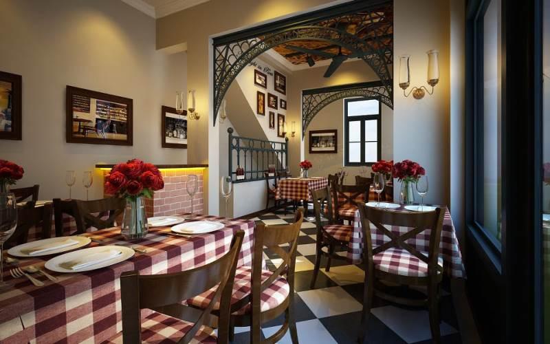 Thiết kế nhà hàng bít tết đẹp hiện đại