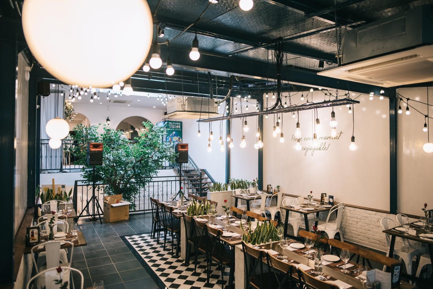 Thiết kế nội thất nhà hàng thời thượng